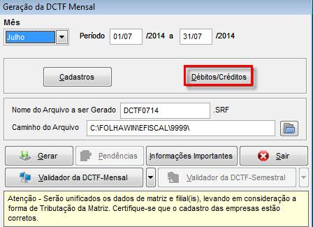Ao clicar neste botão você terá acesso à tela contendo os valores dos  impostos (calculados embasados nos lançamentos feitos no sistema) 2a767f638535c